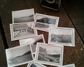 1940's Vintage Black & White Photographs Canadian Vacation Banff Springs Canada