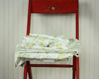 5 Piece Vintage twin bedding