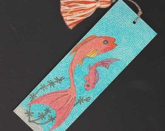 Swimming Fish Bookmark