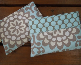 Reusable snack bag - Lotus flower sky
