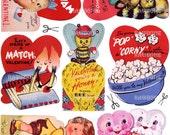 Digital Download Vintage Valentine Cards (collection 2)