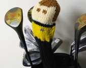 Captain Kirk Star Trek Knit Golf Club Cover