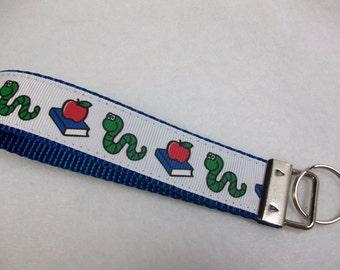 Bookworm Key Fob Wristlet Style