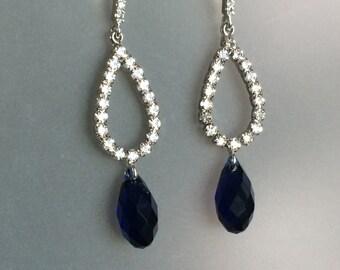 Swarovski Clear Crystal Earrings
