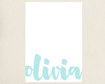 Personalized Note Card, Graduation Gift