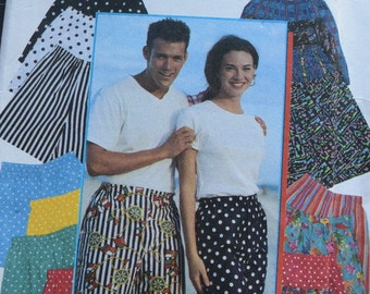 Simplicity 9057 It's so easy Men's Teen-Boys and Girl's Shorts (uncut) in sizes XXS-XL