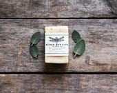Lemon Sage // small bar // handmade soap // cold process soap // organic // all natural soap // vegan soap // lightly scented
