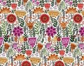 SALE - Windham Fabrics - Wild Field Collection by Dinara Mirtalipova - Mini Firn Floral in Multi