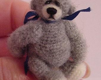 Crochet Pattern for Louie Bear a Thread Artist Teddy Bear  by Joanne Noel of  Bayou Bears