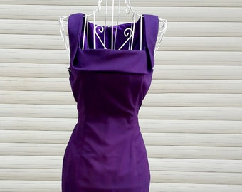 LONDON pencil shape dress custom made all sizes