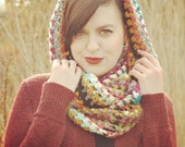 Copper Island infinity scarf