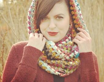 Copper Island infinity scarf