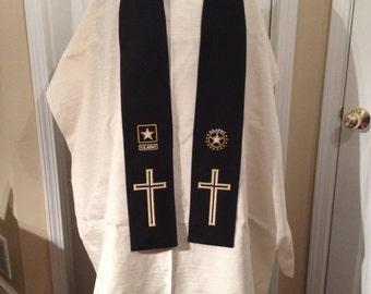 U.S. Army Clergy Chaplain Stole