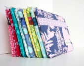 Bridal Party Set - Personalized Perfect Purse Pouches for your Bridesmaids - Set of 6