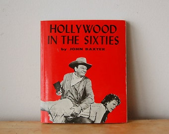 Vintage Paperback Film and Media Studies Book Hollywood in the Sixties from 1972 Rare and Out of Print