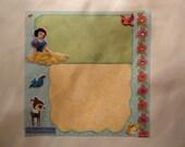 Disney - Princess - Snow White 8 x 8 scrapbook page