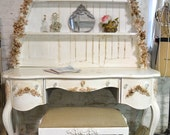 Painted Cottage Shabby Romantic Vanity/ Desk SSDK01