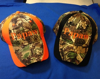 Papaw Camo Hat