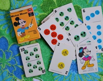 Vintage Mickey Mouse Card Game by Edu-Cards