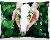 Decorative Nature Pillow - Flowering Coyote
