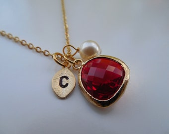 "Shop ""garnet"" in Necklaces"