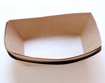 Kraft Paper Food Tray (set of 50) Large