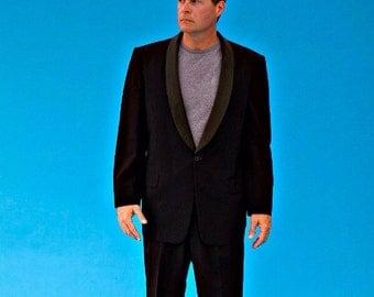 Vintage Men's After Six Classic Tuxedo Jacket and Slacks