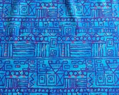 Vintage Fabric Tribal Pattern