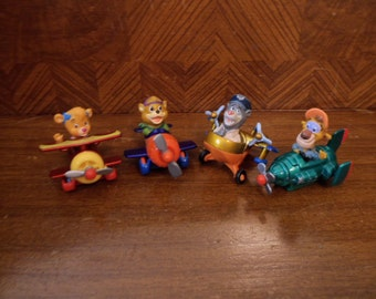 Mcdonald's Happy Meal Tail Spin Complete Set 1990