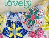 Quilt Lovely book by Jen Kingwell, ( quilt patterns, applique, scrap quilts, fat quarter quilts)