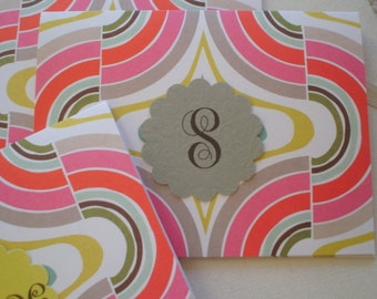 Anna Griffin Maude Asbury Geometric Notecard Five for Five