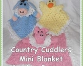 Country Cuddlers Mini Blanket Crochet Patterns - INSTANT DOWNLOAD