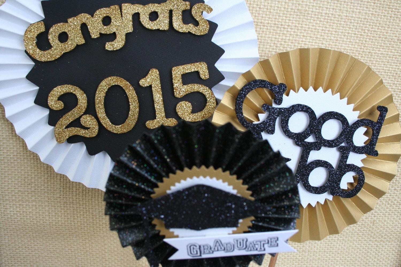 Graduation decoration graduation centerpiece graduation for Graduation decorations
