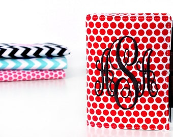 Polka Dot Little List Keeper with personalization, Mother's Day Gift, Organizer wallet, Notepads, Hostess gifts, Teacher gifts, Writing pad