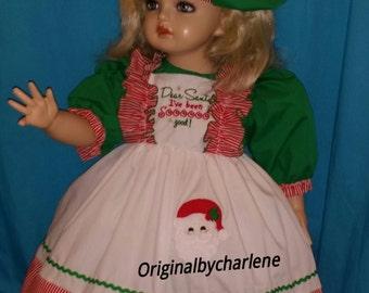 Custom Made OOAK Dear Santa I Have Been So Good Christmas  Set