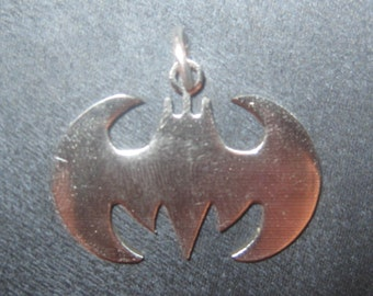 New Stainless Steel 30mm  BATMAN Pendant Necklace