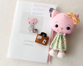 Lily Kitten Pattern Kit