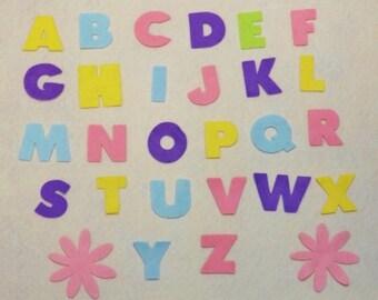 """Felt Alphabet Letters 1 1/4"""""""