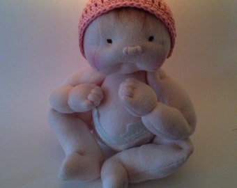 Baby doll, soft sculpture