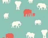 KNIT Organic Cotton Fabric-Birch- SERENGETI- The Herd pool- Great Shipping Rates