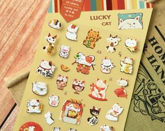 Daisyland LUCKY CAT scrapbooking stickers