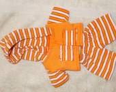 Hoodie,  and sweat pant set made to fit the Waldorf 7 to 8 inch style dolls