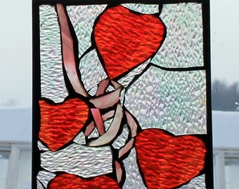 Stained Glass Mosaic SunCatcher or wall Decoration