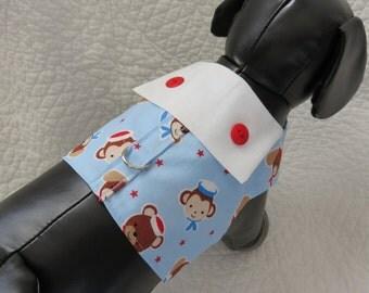 Monkey Harness  Dog Harness Vest Custom Made