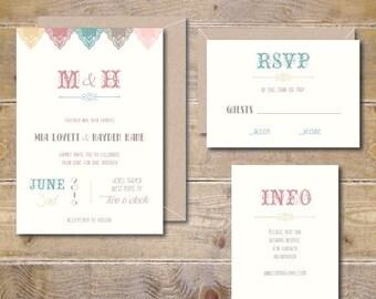 Vintage Wedding Invitations, Rustic Wedding Invitations, Modern Wedding Invitations, Country Wedding, Summer Wedding Invitations