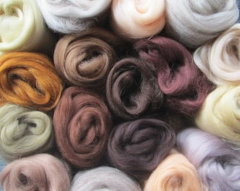 ALL THE BROWNS 17 Shades Ashland Bay Merino Collection 4.25 Oz!