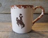Wyoming Cowboys 12 oz. Mug, officially licensed, Ready to Ship Today!
