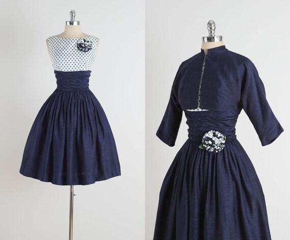Gibson points. robe vintage des années 1950. robe des années 1950. 4808