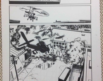 Superior Foes original art by Steve Lieber issue 5 page 10