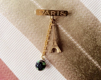 Memories of Paris pin